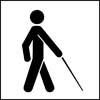 Access for people who are blind or have low vision